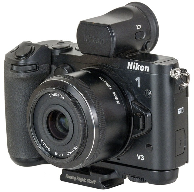 """cc82f8d1b0d The 18.5mm f/1.8 for the Nikon 1 cameras (CX mount) is the """"normal speed""""  lens for the system. That's because after the 2.7x crop adjustment, ..."""